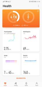 Huawei Health App 1